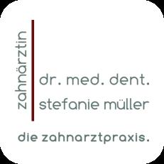Dr med dent Müller - Logo groß