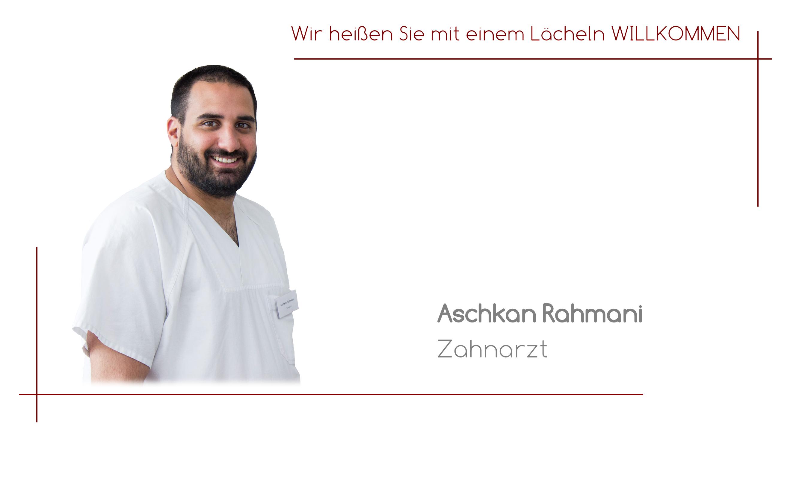 Aschkan Rahmani - Zahnarzt